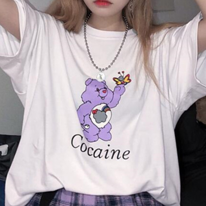 COCAINE CARE BEAR TEE